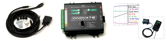 Innovate Motorsports Tool Data Logging (LM2 Wideband & MTS Log Chain